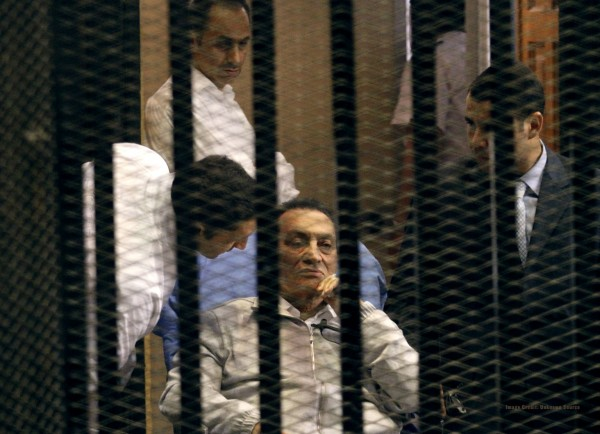 EGYPT-POLITICS-TRIAL-MUBARAK