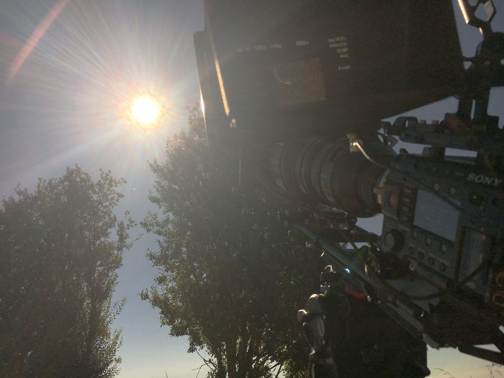 F55 shoots eclipse