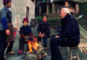Chris Nebe in Tong Guan Village