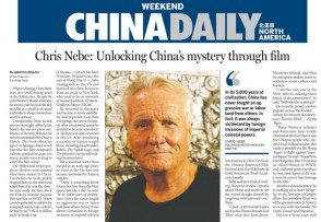 Chris Nebe China Daily