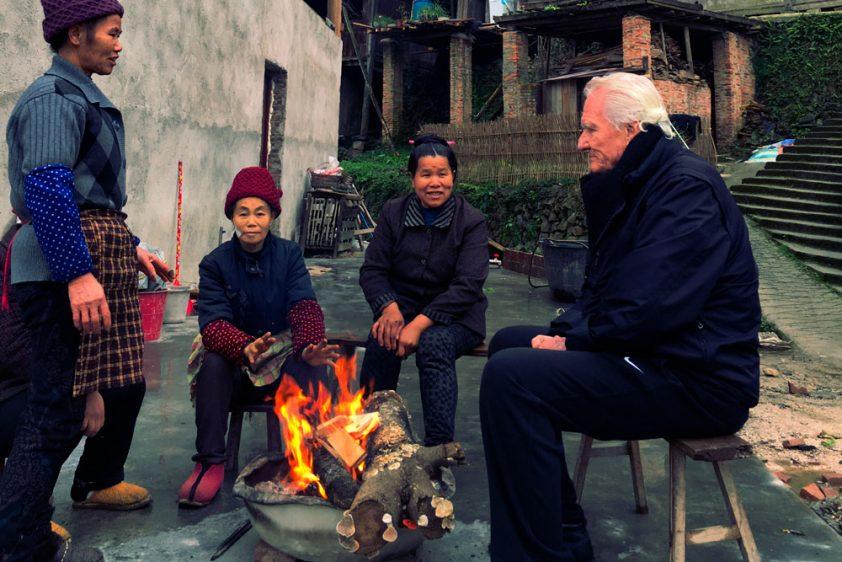Chris Nebe in Tong Guan Village